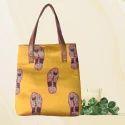 Tusser Silk Tote Bags