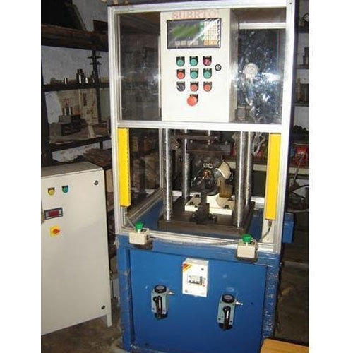 Armature Shaft Burnishing Machine