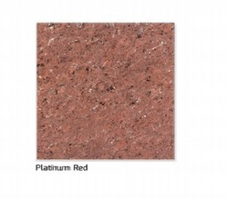 Platinum Red Double Charge Vitrified Tiles