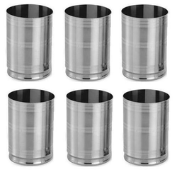 stainless steel drinking glass for home rs 23 piece glocal source id 11934694888. Black Bedroom Furniture Sets. Home Design Ideas