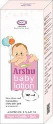 Arshu Baby Lotion, Bottle, Packaging Size: 200 Ml