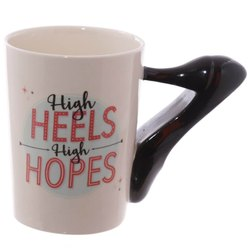 Awestuffs High Heels 3D Coffee Mug, Size: 14 x 9 x 11 cm