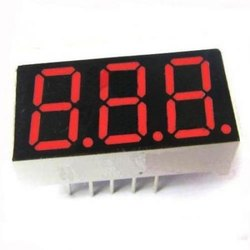 Seven Segment LED Display Three Digit