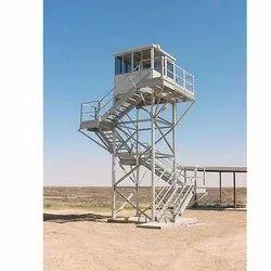 Hot Dip Galvanized Watch Tower
