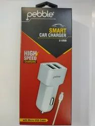 1m White Smart Car Charger
