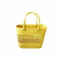 Brown Kauna Handmade Jali Bag, Size: Medium