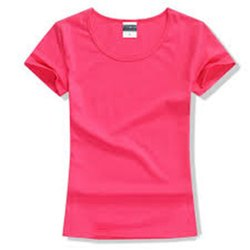 GSE Round Ladies Lycra Plain T Shirt