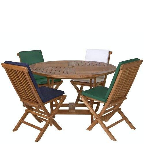 Outdoor Teakwood Furniture Indigo Teakwood Garden Set