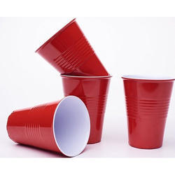 Smart Craft Red Pong Cups, for Home
