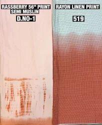 Semi Muslin Prints Fabrics