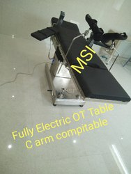 Fully Electric OT Tables