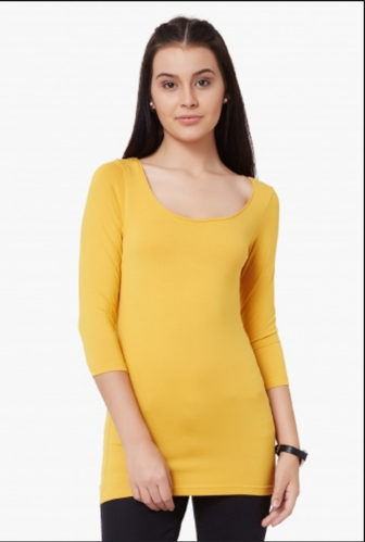 dc57235054d382 CODE Solid Round Neck Top at Rs 383 /piece | Female Tops, Women Tops ...
