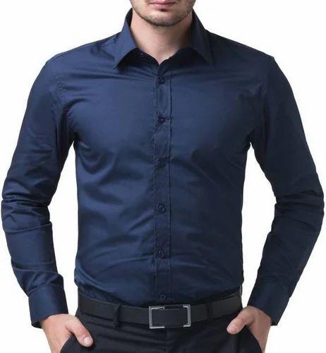 Cotton Collar Neck Men' s Shirts