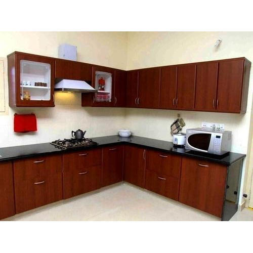 Residential Small House Modular Kitchens Warranty 1 5 Years Rs 25000 Unit Id 4348577512