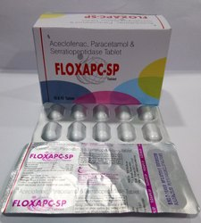 Aceclofenac Paracetamol Serratiopeptidase Tab