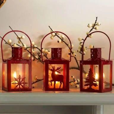 Christmas Lanterns.Christmas Lanterns