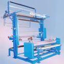 Semi Automatic Fabric Rolling Machine