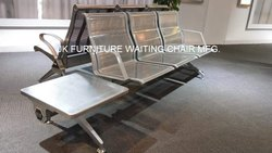 Chrome Finish Airport Waiting Chair