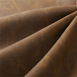 Brown Finished Upholstery Leather