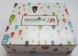 Paper Ice Cream Boxes
