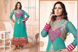 Party Wear Anarkali Georgette Suit