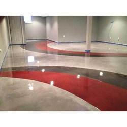 Decorative Epoxy Flooring Services, Thickness: 1 - 10 Mm