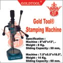 Gold Tool Stamping Machine