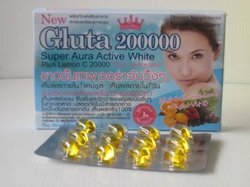 Gluta 200000mg Skin Whitening Softgels Capsules