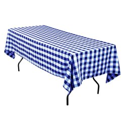 Linen Yarn Dyed Check Tablecloth