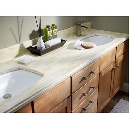 Acrylic Solid Surface Vanity Countertop Thickness 6 To 12 Mm Rs 20000 Piece Id 20534443291