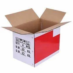 Rectangular 2 Ply Corrugated Duplex Box