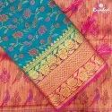 Nikki Series Meena Semi Silk Saree, Packaging Type: Box