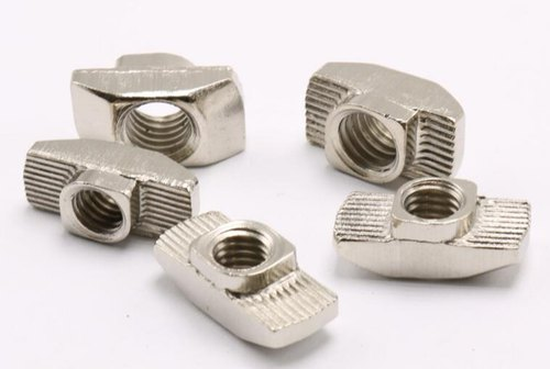 M5 Slot T Nuts Hammer Head Fasten Nuts Nickel Plated for 2020 Series Aluminum Profile Extrusion