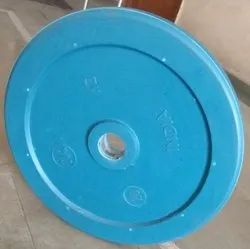 Fixed Weight Rubber Bouncer Plates, Weight: 15 kg
