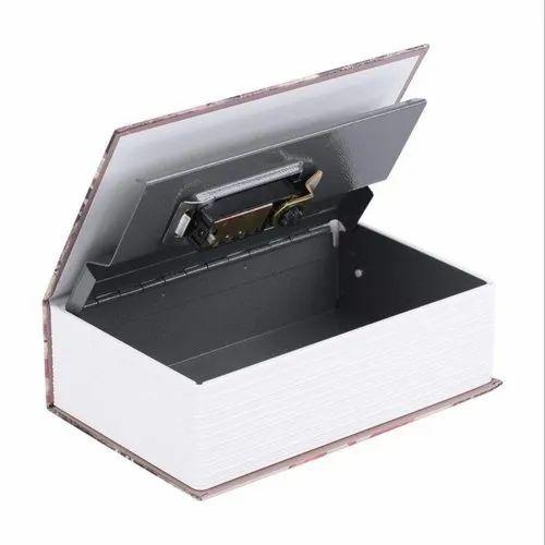 Secret Book Safe Box - Password Lock Hidden Cash Box, Portable Safe Box for  Storing Money, Jewelry