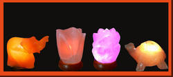 Corporate Gifts - USB Rock Salt Lamps