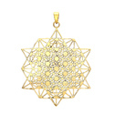 Mind Blowing Energetic Frances Blonde Hottest Design Brass Gold Plated Pendant