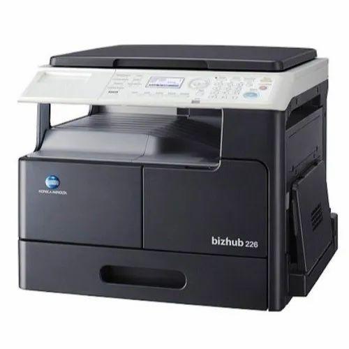 Bizhub 226 Konica Photocopy Machine, Memory Size: 1 Gb, 20 Sec