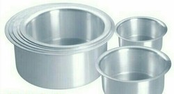 Silver Aluminium Tope Set