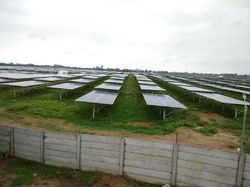 Solar Project Boundary Wall