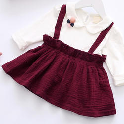 Full Sleeves Red Casual Dress