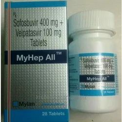 Sofosbuvir 400mg Plus Velpatasvir 100mg Tablets