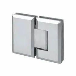 Bevelled Shower Hinge- 180 Glass to Glass Shower Hinge