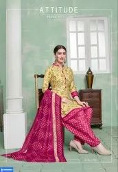 SHREENATH CREATION Regular Wear PURE COTTON PRINTED UNSTITCHED SUIT