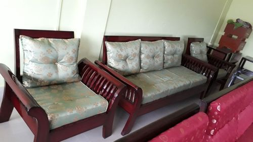 I Shape Wooden Sofas, Warranty: More Than 5 Year