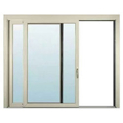 UPVC 2 Track Sliding Windows