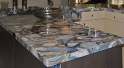 Grey Agate Kitchen Countertop