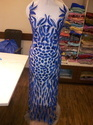 Hand embroidery Long Dress