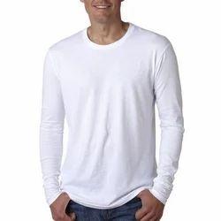 Mens Full Sleeves Plain T Shirt
