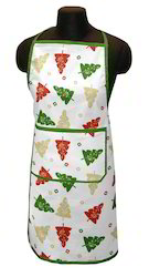 Christmas Kitchen Linen Apron
